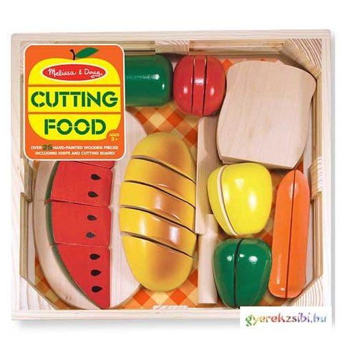 Szeletelhető ételek tárolóban - Melissa & Doug