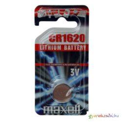 Maxell: Alkáli lítium gombelem CR1620 1db bliszteres csomagolásban