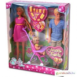 Steffi Love: Boldog család babaszett - Simba Toys