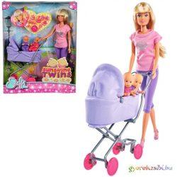 Steffi Love: Sunshine iker babakocsis baba 2 változatban - Simba Toys