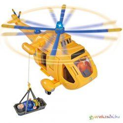 Sam, a tűzoltó: Wallaby II helikopter játékfigurával - Simba Toys