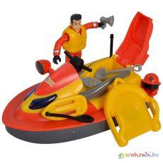 Tűzoltó Sam Juno jetski figurával.