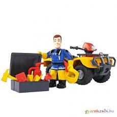 Sam a tűzoltó: Mercury quad jármű figurával  - Simba Toys