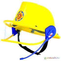 Sam, a tűzoltó: Tűzoltósisak mikrofonnal - Simba Toys Jelmez kellék
