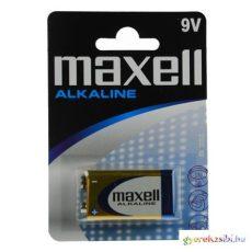 Maxell: Alkáli 9V-os elem 6LR61 1db bliszteres csomagolásban