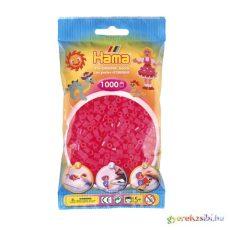 Hama: Pink áttetsző vasalható gyöngy 1000db-os Midi