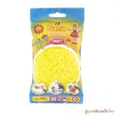 Hama: Neon sárga vasalható gyöngy 1000db-os Midi