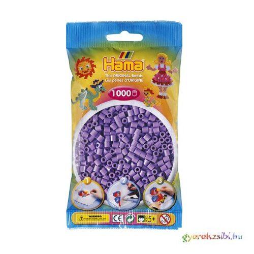 Hama: Pasztell lila vasalható gyöngy 1000db-os Midi
