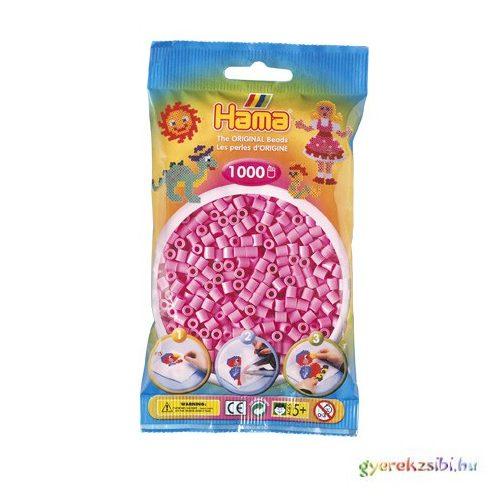 Hama: Pasztell pink vasalható gyöngy 1000db-os Midi