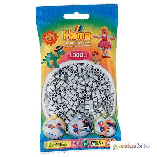Hama: Vasalható gyöngy világos szürke színű 1000db-os Midi