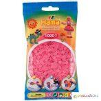 Hama: Vasalható gyöngy áttetsző rózsaszín színű 1000db-os Midi
