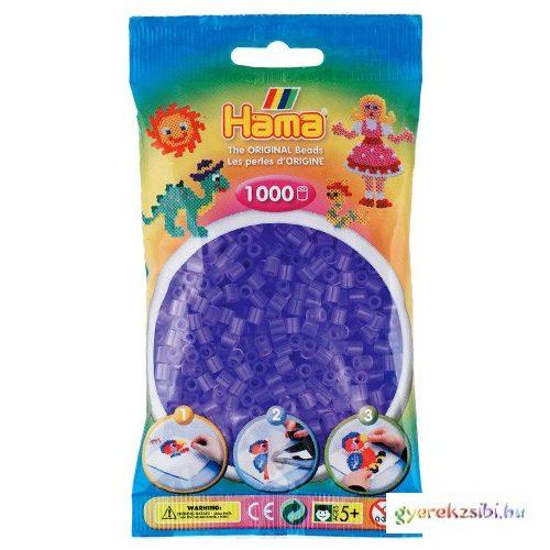 Hama: Vasalható gyöngy áttetsző lila színű 1000db-os Midi
