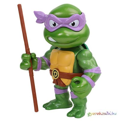Tini Nindzsa Teknőcök: Metalfigs Donatello fém figura 10cm - Simba Toys