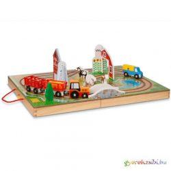 Vidd magaddal fa farm játékszett - Melissa & Doug