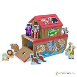 Noé bárkája formaegyeztető játék - Melissa & Doug