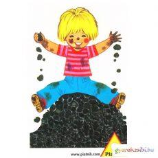 Lurkók Fekete Péter gyerekkártya - Piatnik