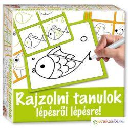 Rajzolni tanulok állatos fejlesztő játék