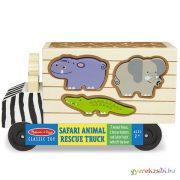 Fa állatos formaillesztő játék - Melissa & Doug