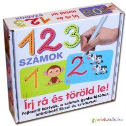 123 számok fejlesztő játék