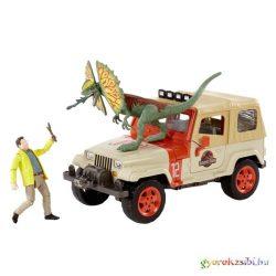 Jurassic World Legacy Nedrys Flucht Dilophosaurus figurával