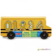 Fa formarendező iskolabusz számokkal - Melissa & Doug