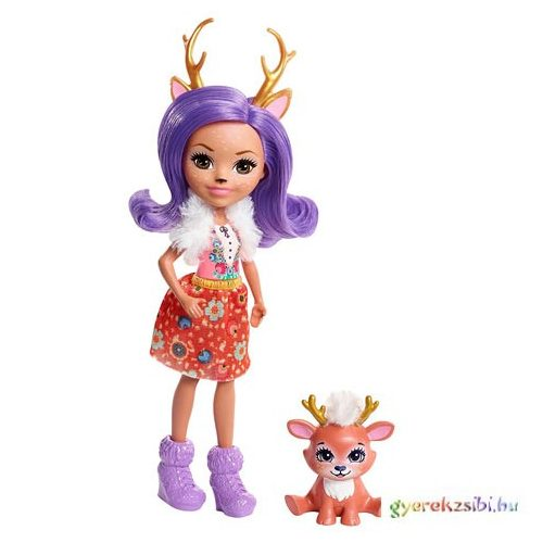 Enchantimals: Danessa Deer baba állatkával