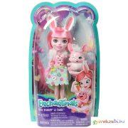 Enchantimals: Bree Bunny és Twist játékfigurák - Mattel