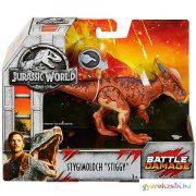 Jurassic World: Stiggy dinoszaurusz figura harci sebbel - Mattel