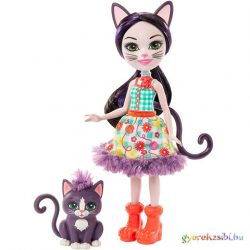 Enchantimals: Ciesta Cat és Climber játékfigurák - Mattel