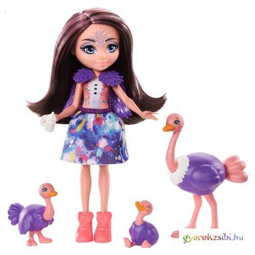 Enchantimals: Strucc állatka család - Mattel