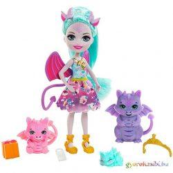 Enchantimals: Deana baba sárkány családdal - Mattel