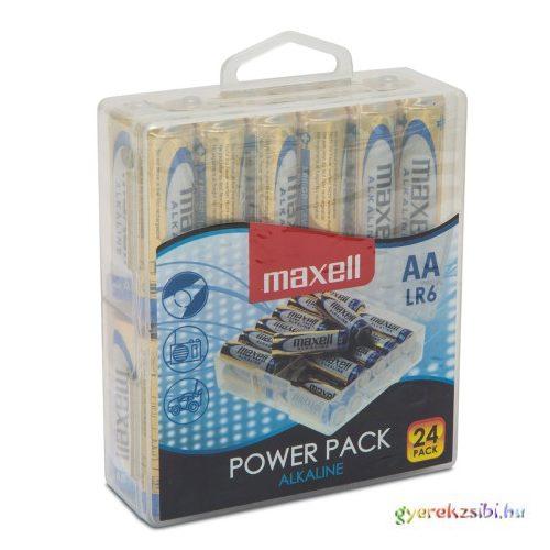 Maxell: Alkáli ceruzaelem 1.5V AA LR6 24db-os Mega Pack