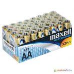 Maxell: Alkáli ceruzaelem 1.5V AA LR6 32db fóliás csomagolásban