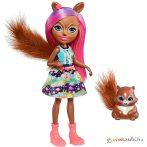Enchantimals: Sancha Squirrel baba és Stumper mókus - Mattel