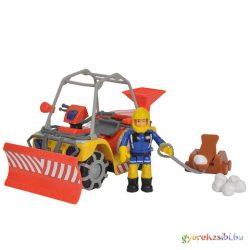 Sam a tűzoltó hókotró járgánnyal - Simba Toys
