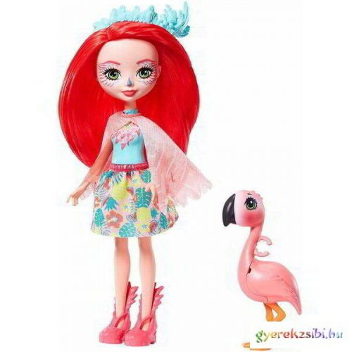 Enchantimals: Fanci Flamingo és Swash játékfigurák - Mattel