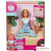 Meditációs Barbie baba fényekkel és hangokkal - Mattel