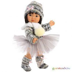 Llorens: Lu 28cm-es baba kötött ruhában