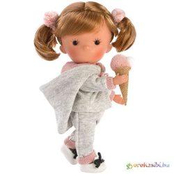 Llorens: Miss Minis Pixi Pink 26cm-es baba fagyival