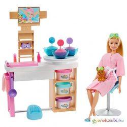 Barbie feltöltődés: Szépségszalon játékszett kiegészítőkkel - Mattel