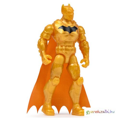 DC Comics: Gold Batman 10cm figura 3 kiegészítővel - Spin Master
