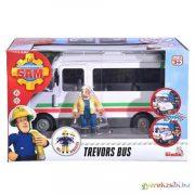 Sam a tűzoltó: Trevor busza játékszett táblákkal - Simba Toys