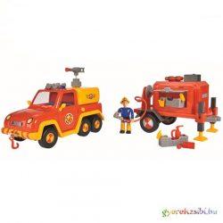 Tűzoltó Sam Vénusz utánfutóval - Simba Toys