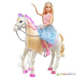 Barbie Princess Adventure játékszett táncoló többfunkciós lóval - Mattel