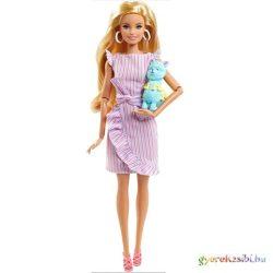 Barbie: Tiny Wishes babaváró buli baba lámával - Mattel