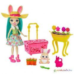 Enchantimals: Bunny Bloom baba kiegészítőkkel - Mattel
