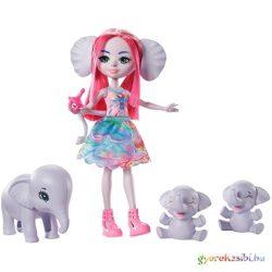 Enchantimals: Esmeralda Elephant és elefántjai játékszett - Mattel