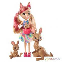 Enchantimals: Kamilla Kangaroo és családja játékszett - Mattel