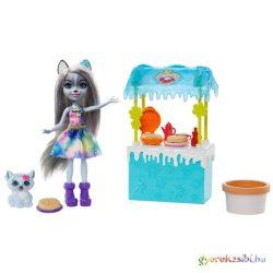 Enchantimals: Hawna Husky melengető forrócsoki standja játékszett - Mattel