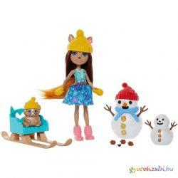 Enchantimals: Hóemberes móka játékszett - Mattel